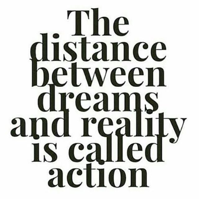 The gap between where you are and where you want to be can only be closed with action– so take action! Believe in yourself and your vision. Work relentlessly to achieve your dreams. #goals #honorsocietyorg