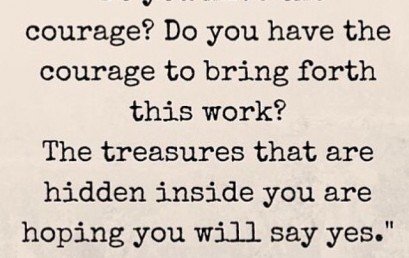 Do you have the courage to be a leader? Join our tradition of success! #treasures #withinyou