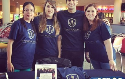 So proud to be a member and a part of the HonorSociety.org family. Great connecting with members today at the UNLV student fair! #unlv #rebels #honorsocietyorg