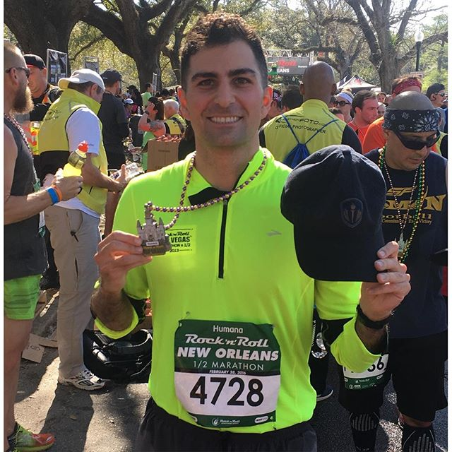 Congrats to HonorSociety.org's @mikemoradian. His half marathon time of 1:51 was a new personal record surpassing his goal. Milestone goals are a great way to stay motivated! Do you have any personal goals on your agenda? #goals #running #halfmarathon #rocknroll