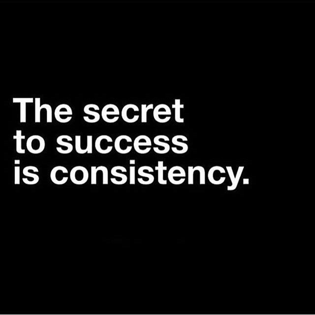 Most successful people will agree with this. Every step you take brings you closer to your goals! #consistency