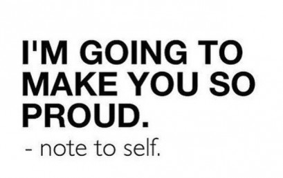 Do something that makes you proud of yourself today. #notetoself #honorsocietyorg