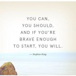 HonorSociety.org quote of the day…take small steps to start achieving your goals today! #youcan #youwill