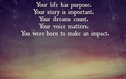 How will you make an impact today? #hsorg