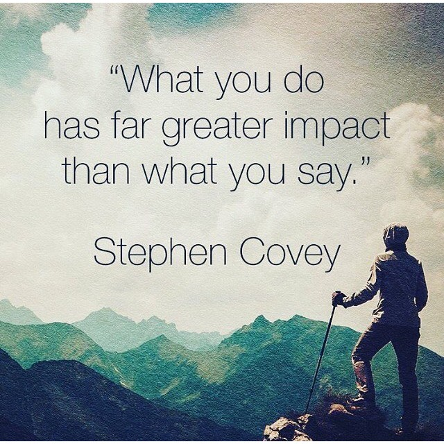 """do actions speak louder than words """"actions speak louder than words"""" no doubt, you've heard that saying, and you know exactly what it means another person can speak a promise to you, but his action of keeping that promise says much more than the mere promise."""
