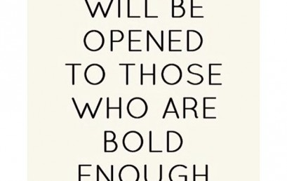 Always put yourself out there…you never know if today is the day a door will open for you! #hsorg