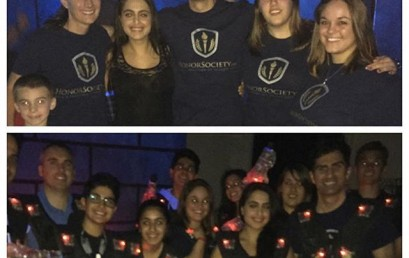 Our HonorSociety.org team conquering the laser tag arena with family and friends! #honorsocietyorg #lasvegas #teambuilding