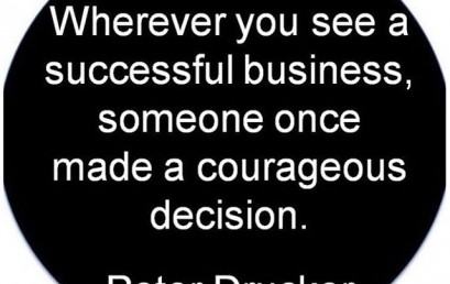 Make a courageous decision today! It may be one of the best decisions you've made. #hsorg #success