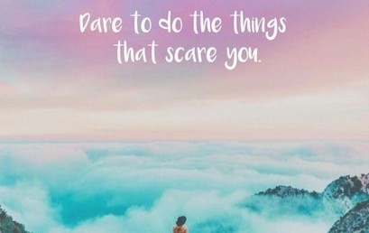 Some of the most worthwhile things in life are the ones that make you nervous. #hsorg #daring