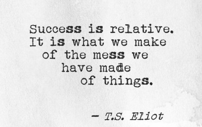 Success looks different for each and every person. What will you succeed at, today? #honorsocietyorg