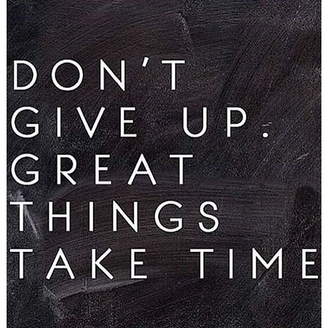 Great things take time. #honorsocietyorg