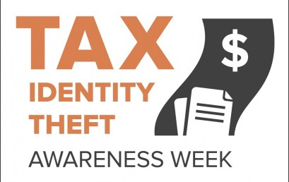 Tax Identity Theft Awareness Week is Jan. 29-Feb. 2, 2018