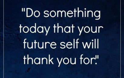 Always be forward thinking. Your future self will thank you for it! #HonorSociety #Inspire #Motivate…