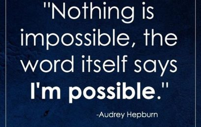 That's right, anything is possible! #quote #goals #motivation #HonorSociety