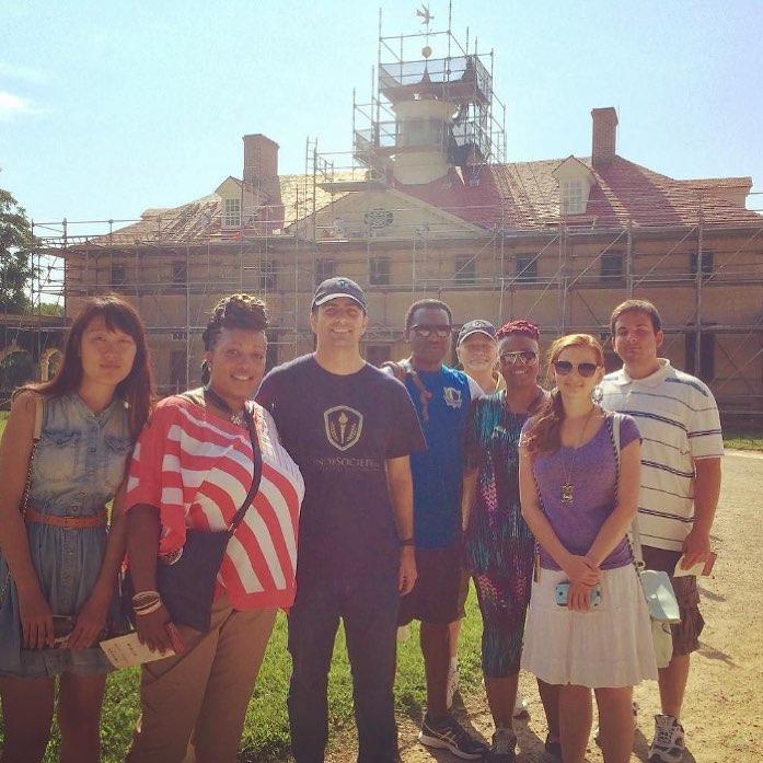 Washington DC Member Trip Day 5: Visiting George Washington's Mount Vernon Estate #honorsociety…