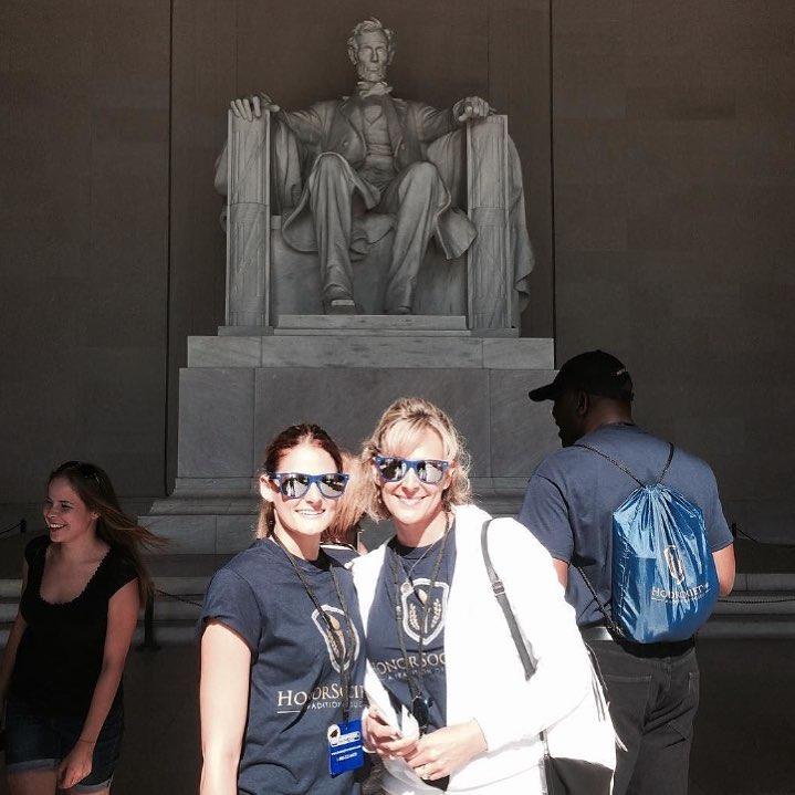 Happy President's Day! (Pic from Washington D.C. Honor Society Member Trip) #honorsociety