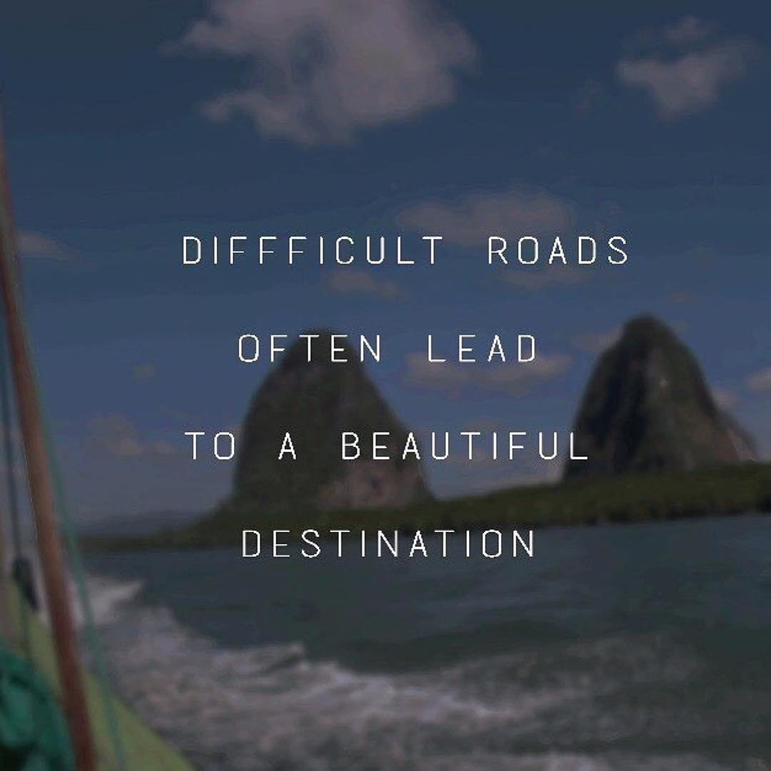 Whatever challenge you're currently facing is only preparing you for the journey ahead….