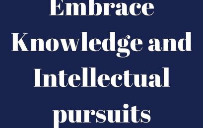 I love to read and learn new things. Embracing knowledge has help me to look at things from a…