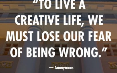 Why fear being wrong? Everyone has #Inspire #Motivate #HonorSociety