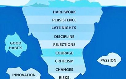 For success to show, there are so many attributes that are below the surface!