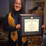 """She believed she could, so she did"" ??? #mastersdegree #pennstatealumni #honorsociety"
