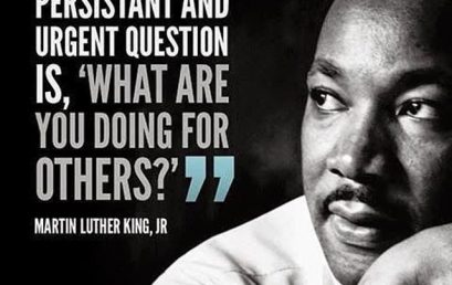 "Ask yourself, ""What are you doing for others?"" #Leadership #MLK #honorsociety"
