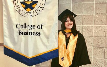 """It always seems impossible until it's done ? #jwu #graduation #soflo #honorsociety"" #Repost @danii_laughs"