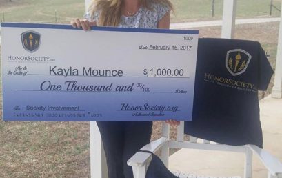 """#Repost @kaylamounce """"It is an honor to be part of such a wonderful organization! Thanks!""""…"""