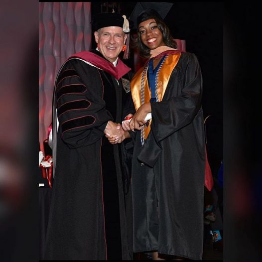 Congrats @janaeannanderson  #classof2018 #honorsociety #CTU
