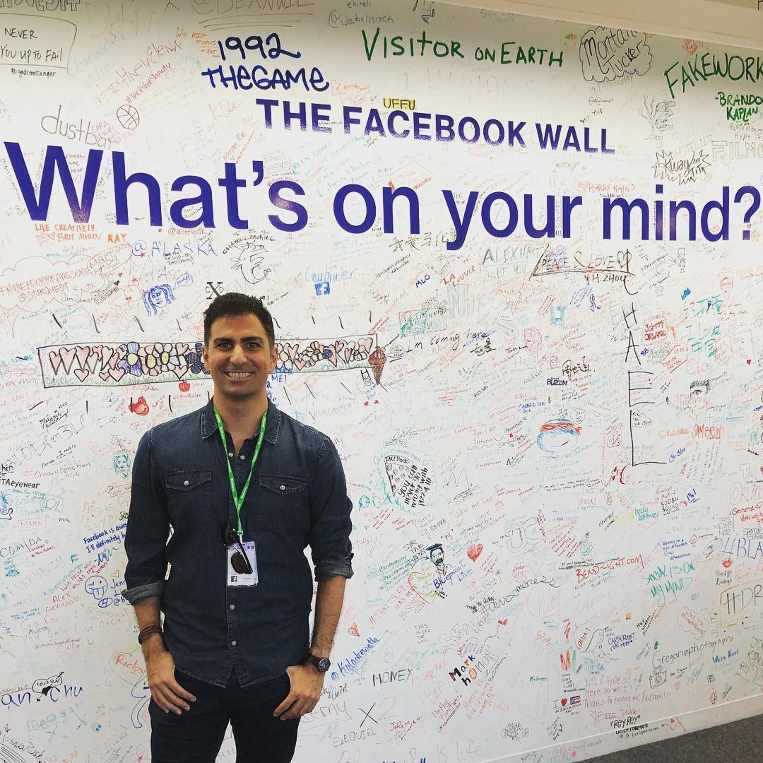 """Made it to the Facebook wall! What should I write?"" ? Honor Society Executive Director…"