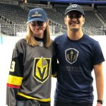 It's not every day you get to hang out on the ice at T-Mobile after a Golden Knights game with the…