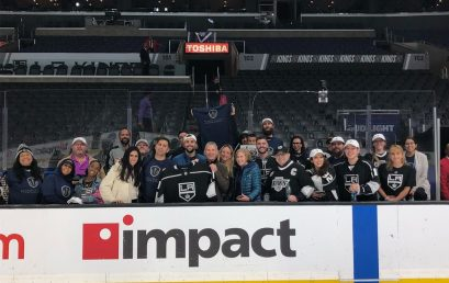 Honor Society Los Angeles Member Night was a smashing success! 100 members attending the LA Kings…